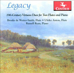 CD Cover Legacy Duos for Flute